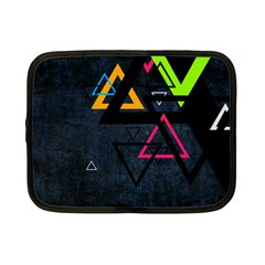 Abstract Triangles Resize Netbook Case (small)