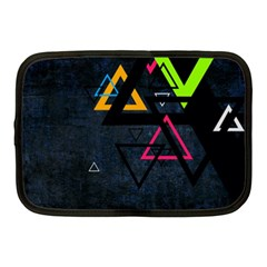Abstract Triangles Resize Netbook Case (medium)