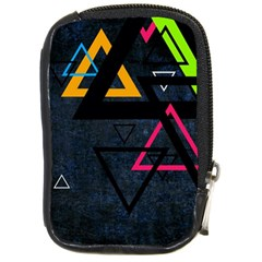 Abstract Triangles Resize Compact Camera Cases