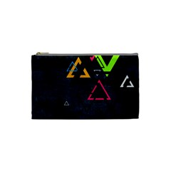 Abstract Triangles Resize Cosmetic Bag (small)
