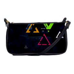 Abstract Triangles Resize Shoulder Clutch Bags