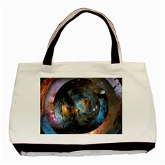 Abstract Abstract Space Resize Basic Tote Bag (two Sides)