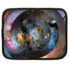 Abstract Abstract Space Resize Netbook Case (large)