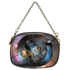 Abstract Abstract Space Resize Chain Purses (two Sides)