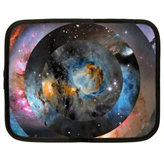 Abstract Abstract Space Resize Netbook Case (xxl)