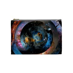 Abstract Abstract Space Resize Cosmetic Bag (medium)