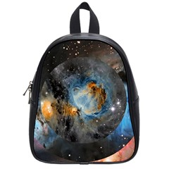 Abstract Abstract Space Resize School Bag (small)