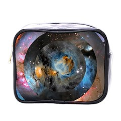 Abstract Abstract Space Resize Mini Toiletries Bags