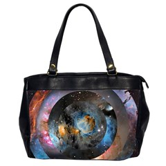 Abstract Abstract Space Resize Office Handbags (2 Sides)