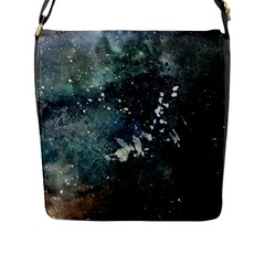 Grunge 1680x1050 Abstract Wallpaper Resize Flap Messenger Bag (l)