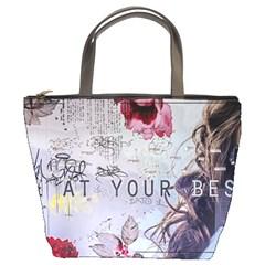 Graffiti Bucket Bags