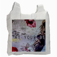 Graffiti Recycle Bag (one Side)