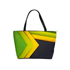 Abstraction Lines Stripes Shoulder Handbags