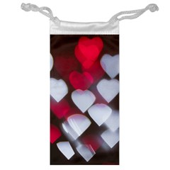 Highlights Hearts Texture  Jewelry Bag
