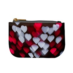 Highlights Hearts Texture  Mini Coin Purses