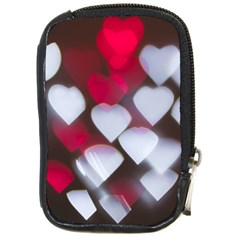 Highlights Hearts Texture  Compact Camera Cases