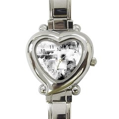 Ombre Heart Italian Charm Watch