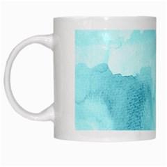 Ombre White Mugs