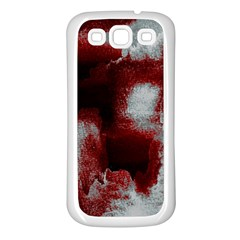 Ombre Samsung Galaxy S3 Back Case (white)
