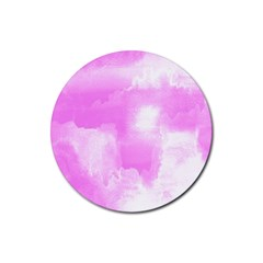 Ombre Rubber Round Coaster (4 Pack)
