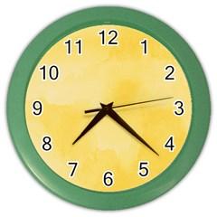 Ombre Color Wall Clocks