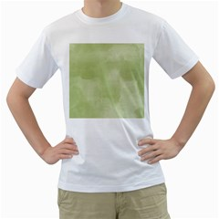 Ombre Men s T Shirt (white) (two Sided)