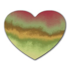 Ombre Heart Mousepads