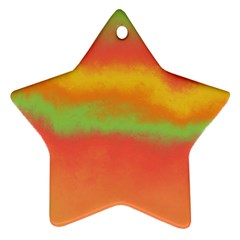 Ombre Ornament (star)