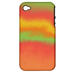 Ombre Apple Iphone 4/4s Hardshell Case (pc+silicone)