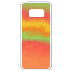 Ombre Samsung Galaxy S8 White Seamless Case