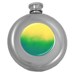 Ombre Round Hip Flask (5 Oz)