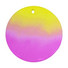 Ombre Ornament (round)