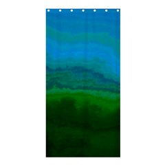 Ombre Shower Curtain 36  X 72  (stall)