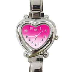 Ombre Heart Italian Charm Watch