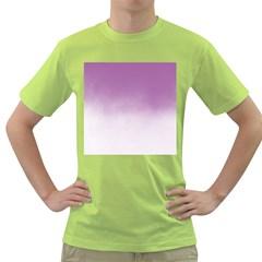 Ombre Green T Shirt