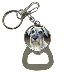 Standard Schnauzer 2 Button Necklaces