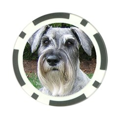 Standard Schnauzer 2 Poker Chip Card Guard
