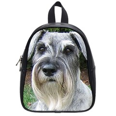 Standard Schnauzer 2 School Bag (small)