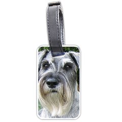 Standard Schnauzer 2 Luggage Tags (one Side)