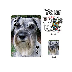 Standard Schnauzer 2 Playing Cards 54 (mini)