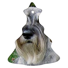 Standard Schnauzer 2 Ornament (christmas Tree)
