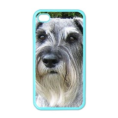 Standard Schnauzer 2 Apple Iphone 4 Case (color)