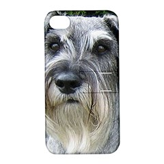 Standard Schnauzer 2 Apple Iphone 4/4s Hardshell Case With Stand