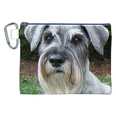 Standard Schnauzer 2 Canvas Cosmetic Bag (xxl)