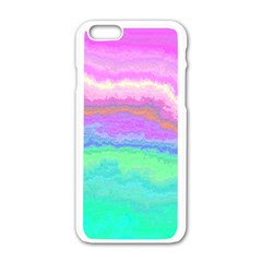 Ombre Apple Iphone 6/6s White Enamel Case
