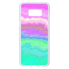 Ombre Samsung Galaxy S8 Plus White Seamless Case