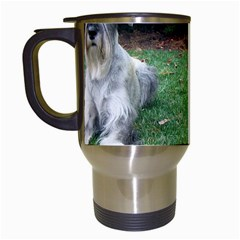 2 Standard Schnauzers Travel Mugs (white)