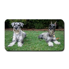 2 Standard Schnauzers Medium Bar Mats