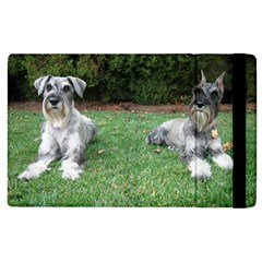 2 Standard Schnauzers Apple Ipad 3/4 Flip Case