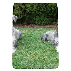 2 Standard Schnauzers Flap Covers (s)